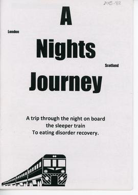 A Night's Journey: Single Issue